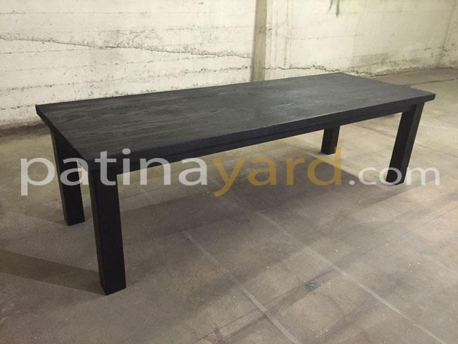 Shou Sugi Ban aka charred wood dinning table