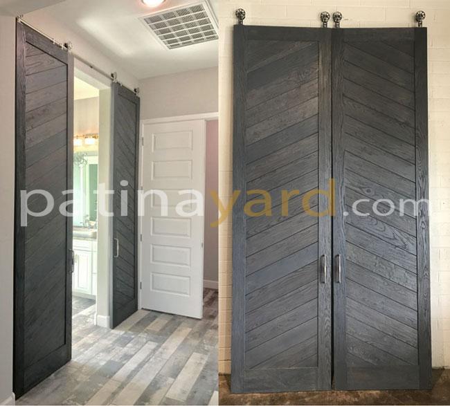 custom wood sliding barn door