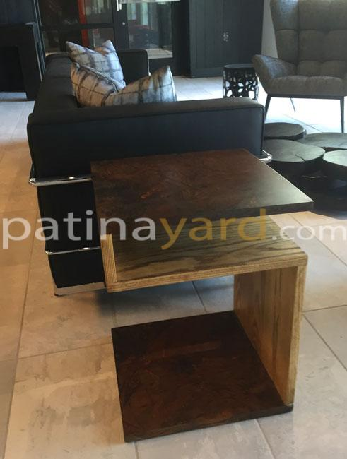 custom end table of contemporary style