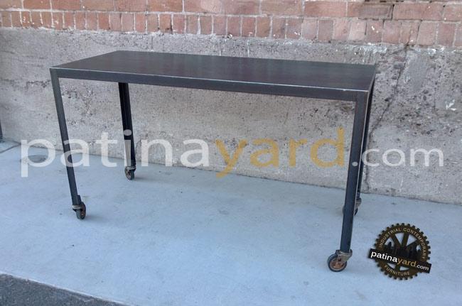 hot rolled steel desk