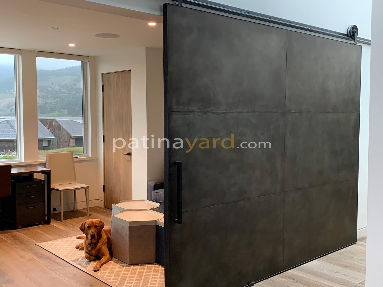 Large Metal Barn Door