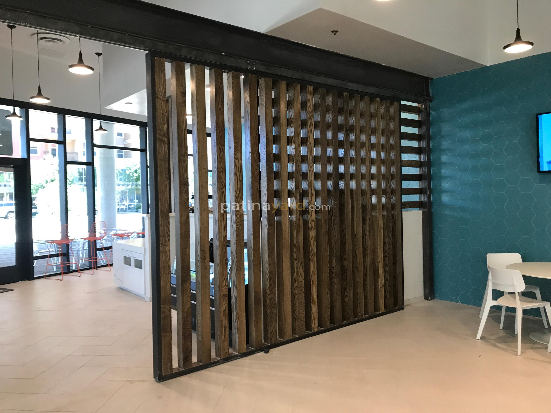 Large Wood Door Divider
