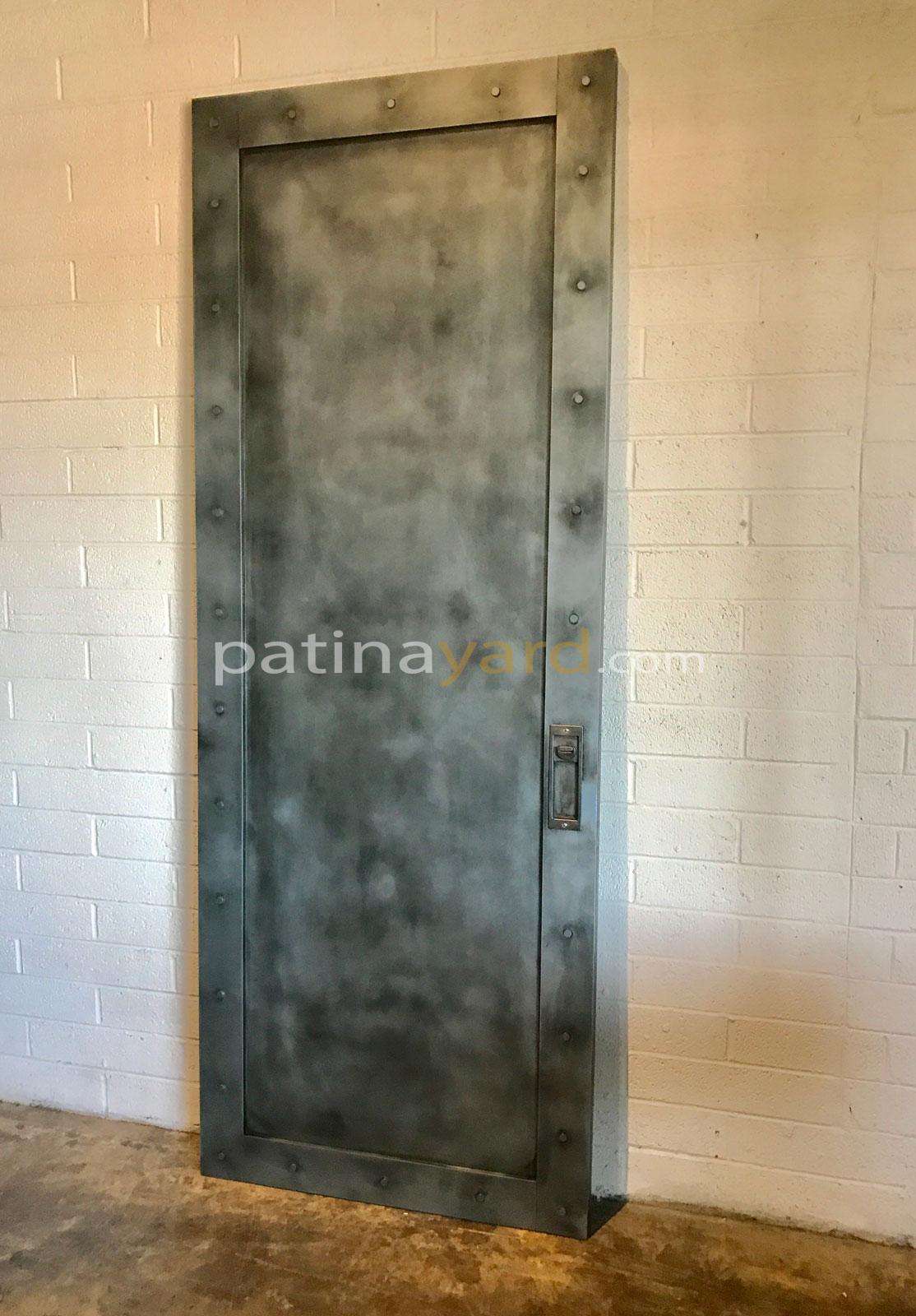 industrial style Zinc pocket door