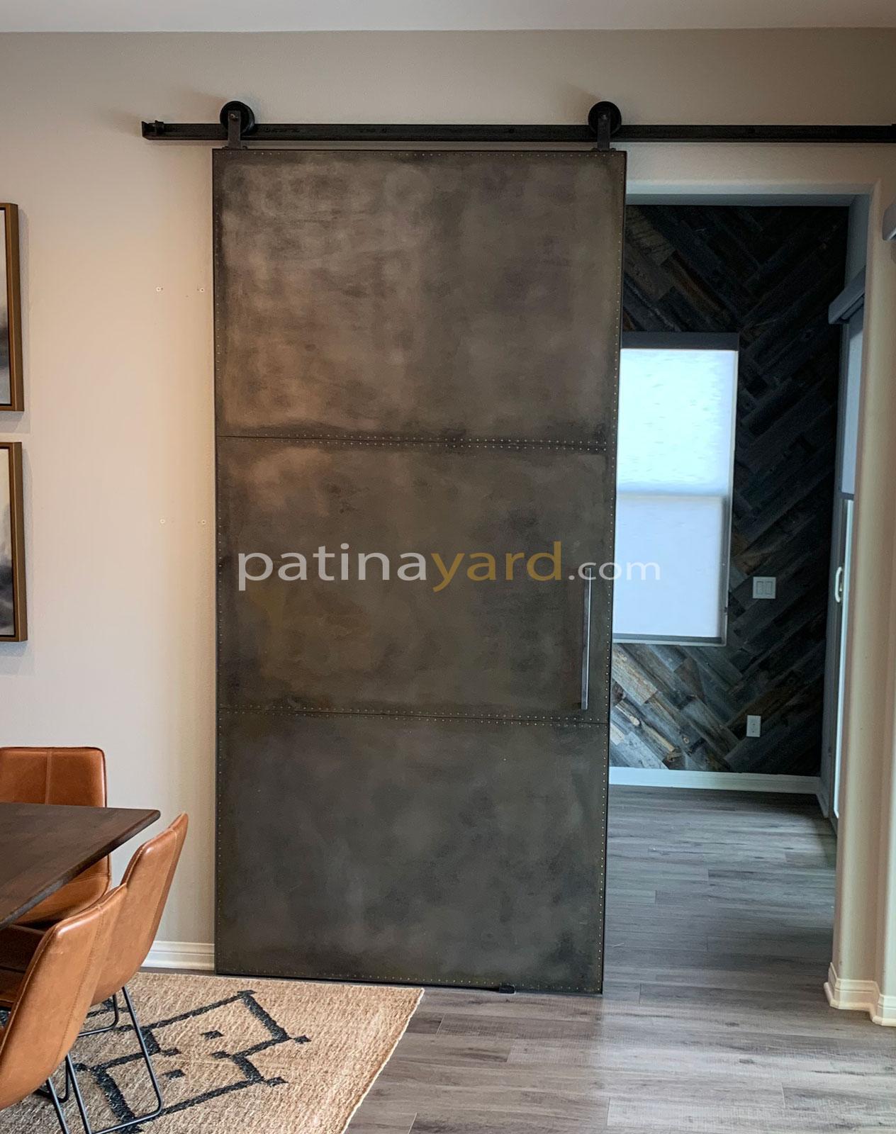 metal ware house style barn door